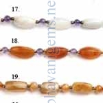 Semi Precious Gemstone Beads Strings