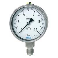 Industrial Bourdon Tube Pressure Gauges