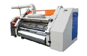 SINGLE FACER HIGH SPEED CORRUGATION MACHINE