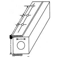 Hollow Square Fender