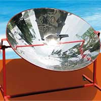 Solar Parabolic Cookers