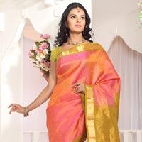 Hand Woven Silk Saree 01