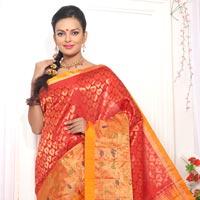 Hand Woven Silk Saree 03