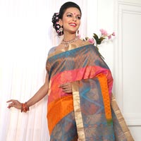 Hand Woven Silk Saree 07