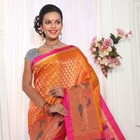 Hand Woven Silk Saree 08