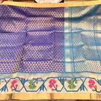 Hand Woven Silk Saree 10