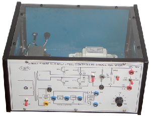 single phase controlled bridge rectifier