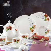 Flower Series Dinner Set