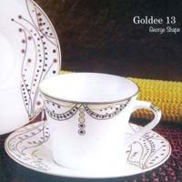 Goldee Series Cup & Saucer Set