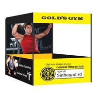 Gold\'s Gym Canopy