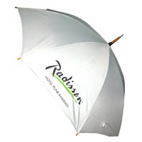 Wooden Radisson Umbrella