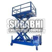 Trolley Mounted Scissor Lift