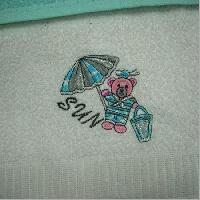 Embroidered Towels 05