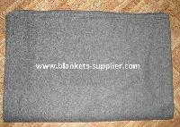 Fleece Grey Relief Blankets
