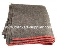Grey Wool Air Force Blankets