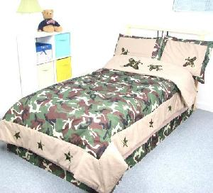 Military Printed Bed Linen