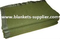 Olive Green Army Blankets