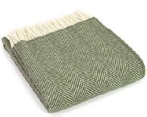 Olive green Blanket 01