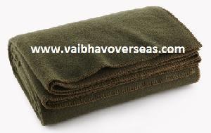 Olive green Blanket 02
