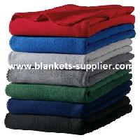 Plain Polar Fleece Blankets