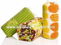 Printed Polyester Fleece Blankets