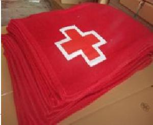 Red Cross Blankets