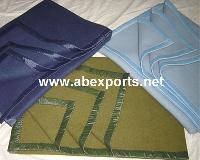 Solid Woolen Blankets