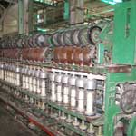 Yarn manufacturing plant