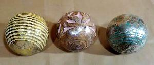 Wooden Decorative Balls 02