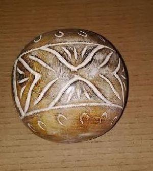 Wooden Decorative Balls 05