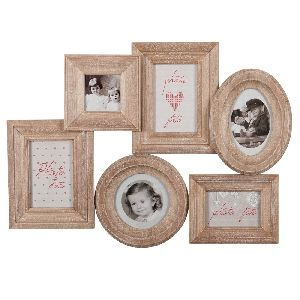 Wooden Family Photo Frame 01
