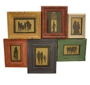 Wooden Family Photo Frame 09
