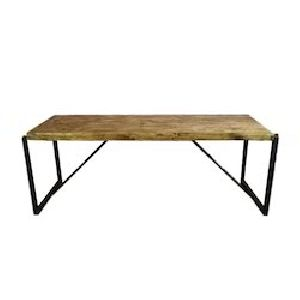 Wooden Iron Tables