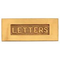Brass Letter Plate (LP-303)