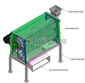 Cotton Seed Delinting Machine 01