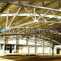 Prefabricated Steel Trusses / Building