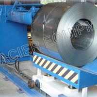 Hydraulic Heavy Decoiler With Coil Car