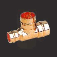 Copper Solder Ring Reducing Tee