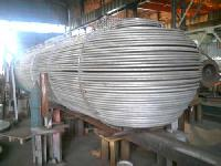 Heat Exchanger Tube Bundle Under Fabrication