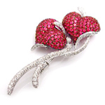Diamond Brooch Manufacturer, Exporter & Suppliers