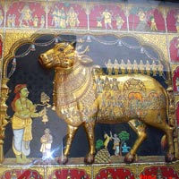 Tanjore Gold Leaf Painting