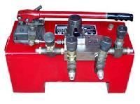 Hydraulic Pump for 2 Number Hydraulic Jack Double Acting