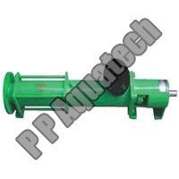 Screw Pump For Sludge Handling