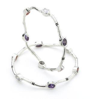Ladies Silver Bracelet 07