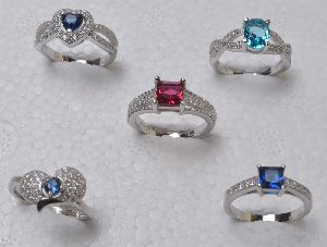 Sterling Silver Solitaire Rings