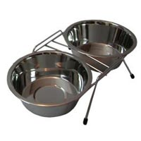Double Dinner Pet Bowls