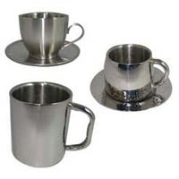 Double wall cups mugs