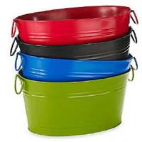 Galvanized Colored Party Tub (ASI PT 145)
