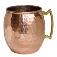 Stainless Steel Copper Mule Mug