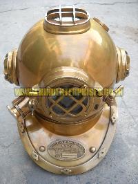 Brass Diving Helmet He-10002